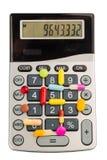 Таблетки и калькуляторы стоковые фотографии rf