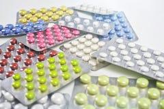 таблетки Стоковые Фото