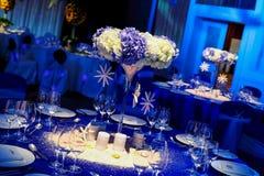 Таблица венчания Стоковые Фотографии RF
