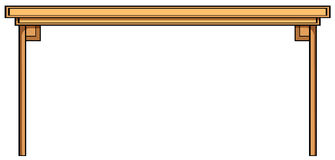 таблица деревянная Стоковое Фото