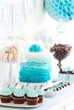Таблица десерта Стоковое Фото