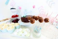 Таблица десерта Стоковая Фотография RF