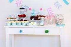 Таблица десерта Стоковая Фотография