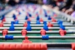 таблица 2 игроков изолята футбольной игры Стоковые Фотографии RF