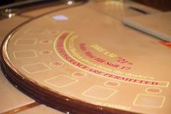 Таблица покера Стоковое Изображение