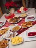 таблица рождества польская Стоковое фото RF
