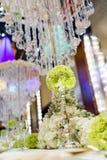 Таблица свадьбы Стоковое Изображение