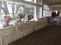 Таблица сервировки события; wedding Стоковая Фотография RF