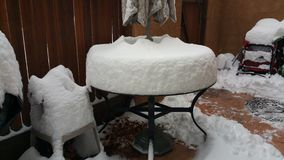 Таблица снега Стоковое фото RF