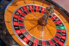 таблица съемки встречи рулетки казино реальная Стоковое Изображение