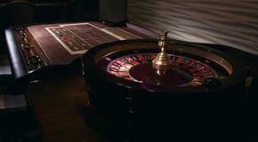 таблица съемки встречи рулетки казино реальная Стоковое Фото