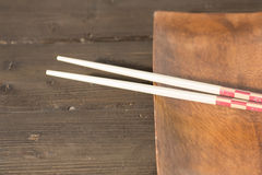 Таблица с палочками Стоковая Фотография RF