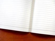 таблица тетради dof низкая Стоковое Фото