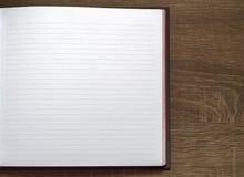 таблица тетради dof низкая Стоковое фото RF