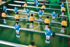 Таблица футбола игр Стоковые Фото