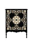 Таблица шлихты мебели вектора винтажная барочная Стоковое Фото