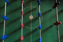 Таблица footbal Стоковое Фото