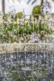 Таз фонтана от бортовой вертикали Стоковые Изображения RF