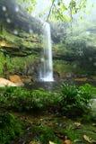 Таз maliu водопада панорамы Стоковое фото RF