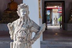 Таиланд, Бангкок. Histirical и наследие культуры, Tample рассвета, золота Buddhas Стоковая Фотография RF