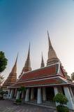 Таиланд, Бангкок. Histirical и наследие культуры, Tample рассвета, золота Buddhas Стоковое Фото