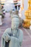 Таиланд, Бангкок. Histirical и наследие культуры, Tample рассвета, золота Buddhas Стоковые Изображения