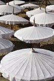 Таиланд, как раз сделанный Mai Chiang, тайскими зонтиками Стоковое Изображение