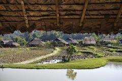 Таиланд, Mai Chiang, шея Карен длинняя Стоковые Фотографии RF