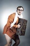 Таинственный человек Стоковая Фотография RF