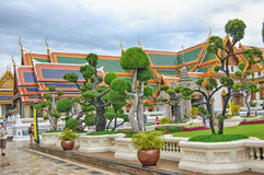Таиланд Бангкок грандиозный дворец стоковое изображение rf
