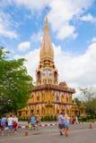 Таиланд, Пхукет - 19-ое февраля 2017: Wat Chalong стоковое фото rf