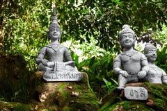 Таиланд Статуи в секретном саде Будды в Koh Samui Буддизм Стоковая Фотография RF