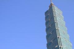 Тайбэй 101, высокое здание подъема в Тайване Стоковое фото RF
