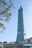 Тайбэй 101, ориентир ориентир Тайбэя, Тайваня Стоковые Изображения RF