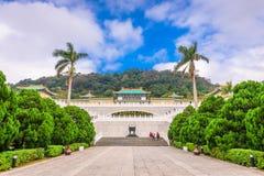 Тайбэй, Тайвань на национальном дворце стоковая фотография
