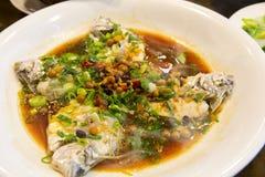 Тайбэй, Тайвань, рестораны морепродуктов, рестораны, крадя вкус рыб моря, свежих и детальных Стоковые Фото