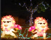 Тайбэя фестиваль 2013 фонарика Стоковое Изображение RF