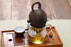 Тайваньская церемония чая стоковые фото
