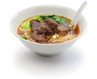 Тайваньский суп лапши говядины Стоковые Изображения RF
