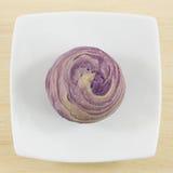 Тайваньский фиолетовый кристаллический торт таро Стоковые Изображения RF