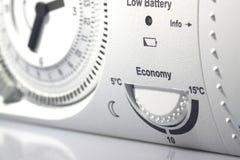 Таймер b термостата Стоковая Фотография RF