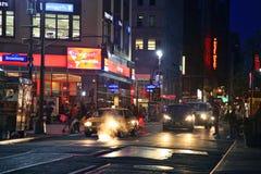 Таймс площадь - Манхаттан Стоковая Фотография RF