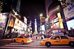 Таймс площадь iconicplace New York City Стоковые Фото