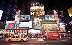 Таймс площадь iconicplace New York City Стоковые Изображения RF