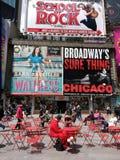 Таймс площадь, костюмированный характер на проломе, Нью-Йорке, NYC, NY, США стоковые изображения