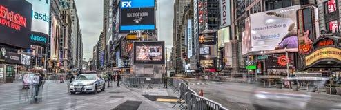 Таймс площадь, Нью-Йорк, Манхаттан Стоковые Изображения