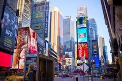 Таймс площадь Нью-Йорк Стоковое Изображение