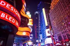 Таймс площадь Нью-Йорк Стоковые Фотографии RF
