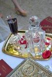 Тайна греческой свадьбы стоковое фото