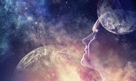 Тайна мира космоса бесплатная иллюстрация
